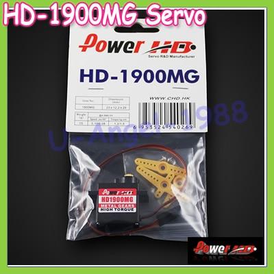 4set lot 100 orginal POWER HD HD 1900MG 9g 13g 1 5kg cm 08 sec metal