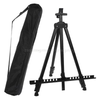 Tall Display Telescopic Studio Painting Metal Tripod Art Easel Tripod Display Stand Drawing black F21 19 Dropship