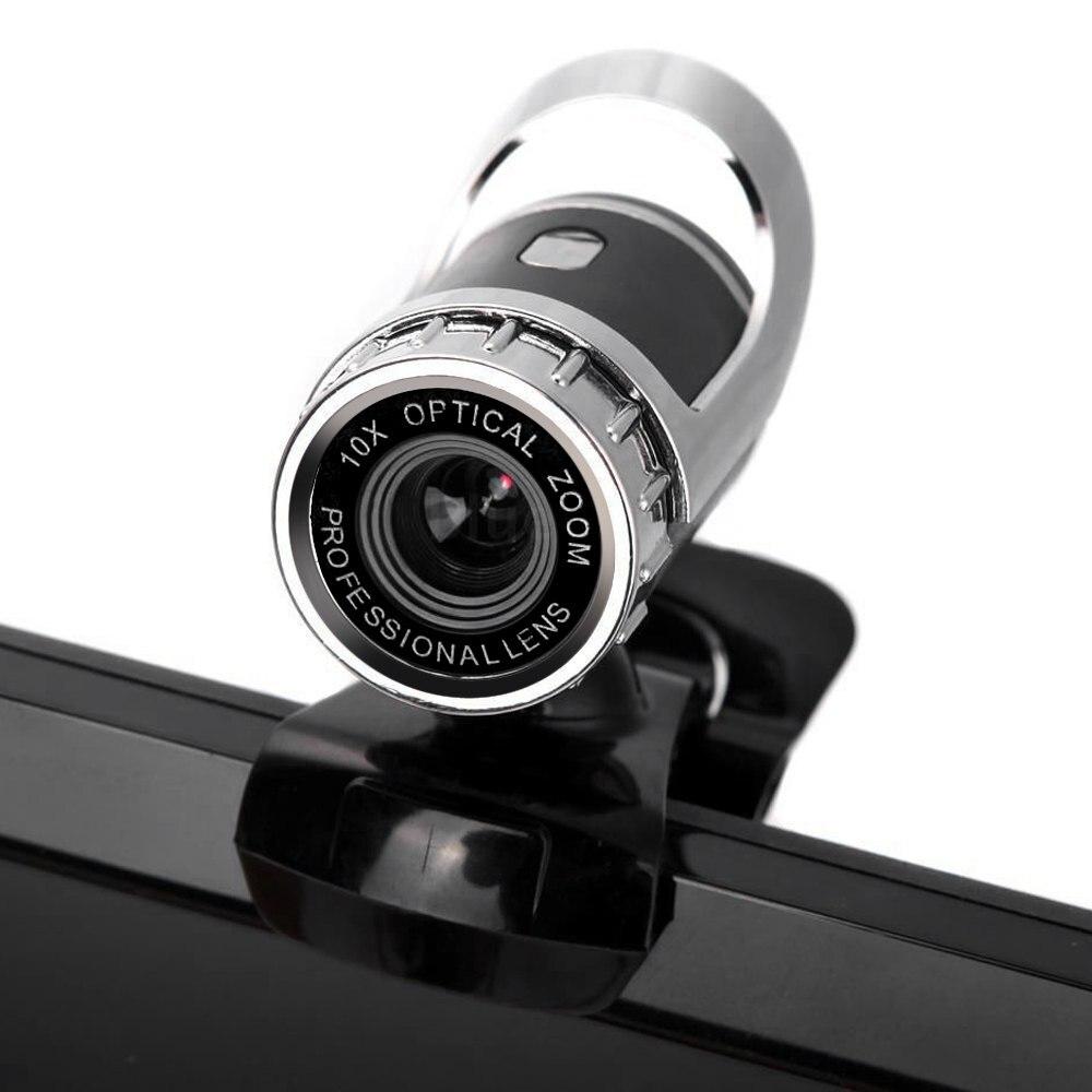 Quality USB 2.0 50 Megapixel HD Webcam Camera <font><b>Web</b></font> Cam Digital Video <font><b>Black</b></font> Webcamera with Microphone MIC for Computer PC Laptop
