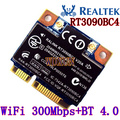 Ralink rt3090bc4 n bluetooth 3.0 pci-e 150 m 602992-001 para hp placa wifi 150 mbps sem fio interno para laptop módulo
