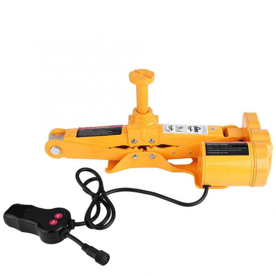3Ton 12V DC Automotive Car Electric Jack Lifting SUV Van Garage And Emergency Equipment Auto Electric Jack