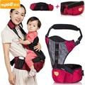2-36month 3-20 kg Multifuncional Oxford Transpirable Portador de Bebé Del Asiento de La Cintura Mochila Porta Bebé Portador del Asiento