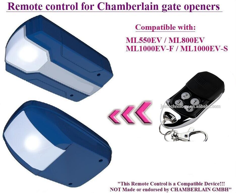 The remote replace for Chamberlain ML1000EV-F / ML1000EV-S garage door openers