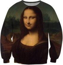 a2f66ac8 Mona Lisa Sweatshirt Numb Mona Lisa Funny Lisa clothing high quality Jumper long  sleeve casual tops