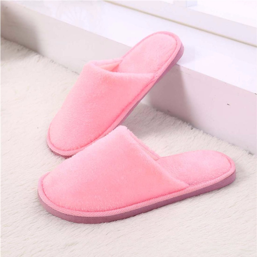 be0d43e22 Waikol Winter Home Women Slippers Indoor Bedroom House Soft Cotton Warm  Shoes Women's Slipper Female Flats Christmas Gift