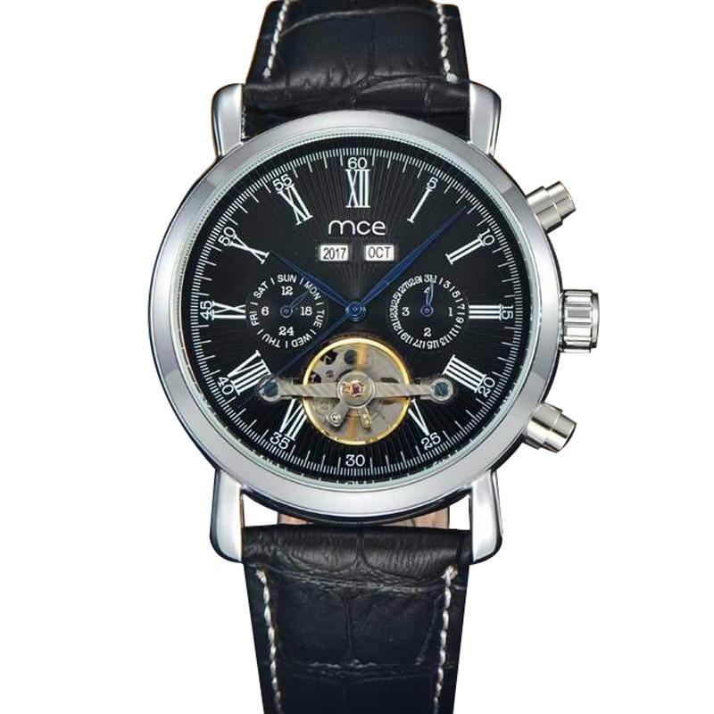 MCE New Leather Watch Men Original&Luxury Top Brand,Perpetual Calendar Men's Watch Mechanical Tourbillon Power Reserve relogio, 2pcs ink cartridge compatible for hp 122 xl for hp deskjet 1000 1050 2000 2050 2050s 3000 3050a 3052a 3054 1010 1510 2540