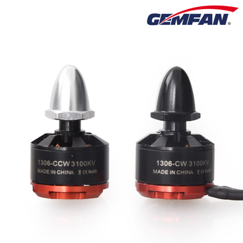 Gemfan CW CCW 1306 3100KV Motor Brushless For QAV ZMR 150 180 210 Mini Quadcopter Multiroter Mini FPV Multicopter Copter Drone