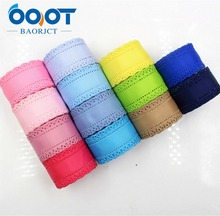 OOOT BAORICT 177034,flower hollow grosgrain Ribbon,30MM,10 yards The tape for Sewing,DIY Headdress Accessories Handmade material