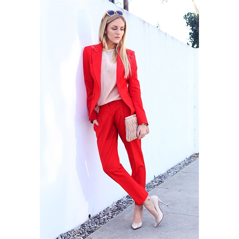Popular Red Pants Suit-Buy Cheap Red Pants Suit lots from China ...