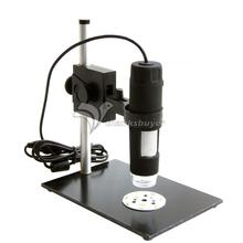 U613 GAOSUO 8 LED Digital Microscope 50X- 600X 2M Pixel HD CMOS Sensor Magnifier for Measurement Calibration