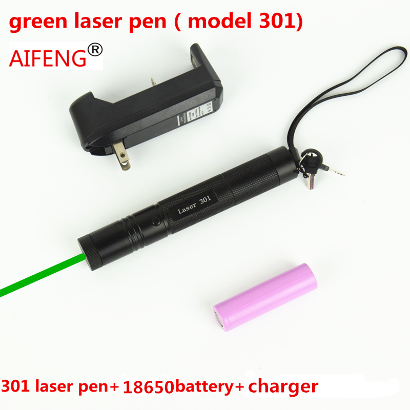 AIFENG pen pointer beam powerful  battery 3 in 1 green burn Eu us UK charger 100MW tactical green dot laser flashlight combo 3pcs 3 7v 900mah li po battery 3 in 1 green us regulation charger and charging cable for rc xs809 xs809hc xs809hw aircraft