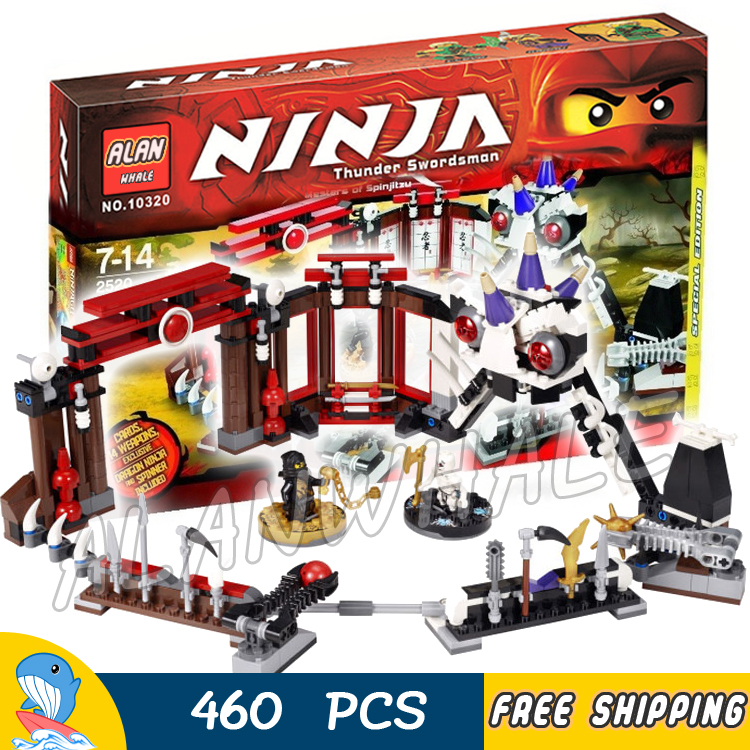 460pcs Bela New 9733 Ninja Battle Arena Building Blocks Model Toys Jay Cole boys Bricks Compatible With lego gonlei 10374 new starwars battle droid troop carrier model building blocks kid toys gifts figure boys compatible with