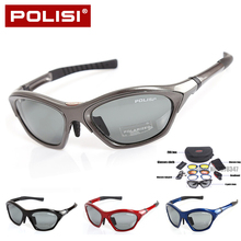 Genuine Brand Polarized Cycling Glasses Men Women Bike Glasses Sports Eyewear MTB Road Bicycle Goggles Occhiali Ciclismo 4 Lens