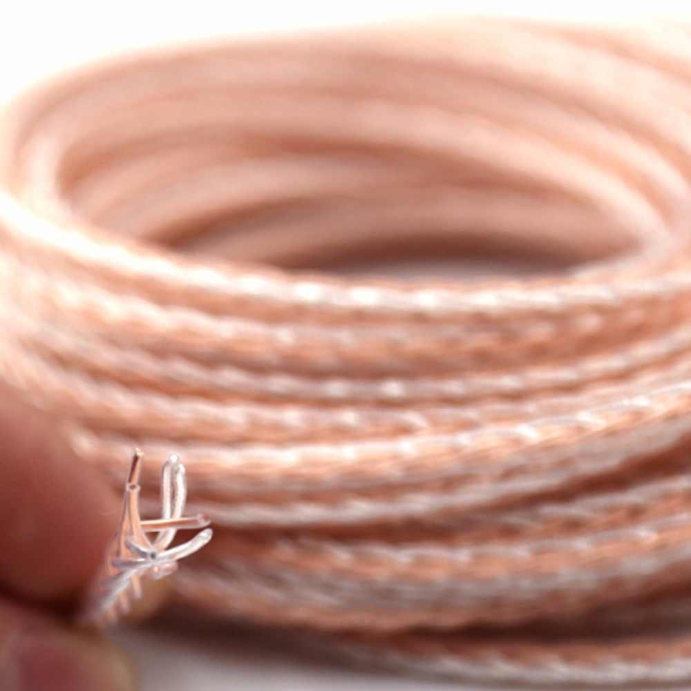 شحن مجاني Haldane 3.5 ملليمتر الذكور إلى 4 دبوس XLR متوازنة الإناث 7N أورينت الفضة مطلي كابل محول 3.5 إلى XLR الصوت كابل