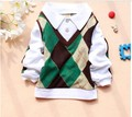 2016 Spring Autumn Baby Boy Clothes long-sleeved  Turn-Down Cotton Sweater Baby T-shirt A149