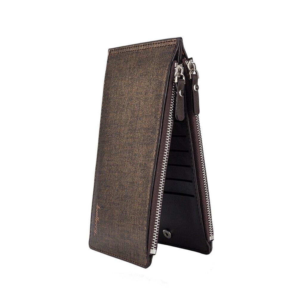 Neue Slim Kreditkarte Halter Mini Brieftasche Männer Einfache Tragbare Vollrindleder Id Fall Geldbörse Tasche Vintage Karten Halter Geldbörsen & Halter