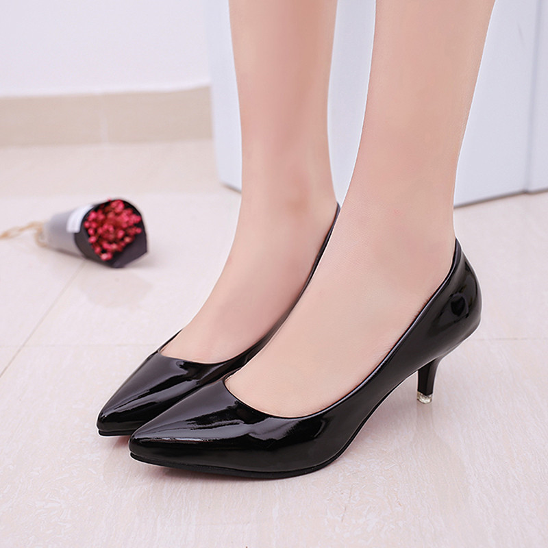 De Chaussures D'affaires Bout Pompes Hauts Sexy Silver Femmes Mariage black Pointu Zapatos Talons Mujer Travail Mode pink Femme gray pwvnY8q