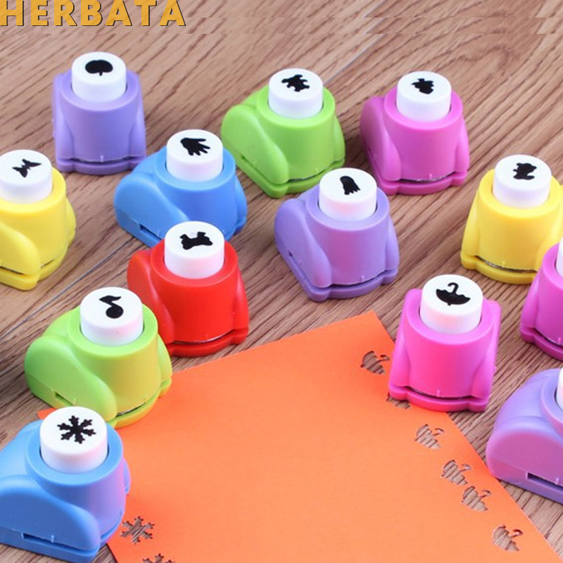 1pc/lot Mini DIY Craft Punch For Scrapbooking Punch Handmade Cut Card Hole Puncher For DIY Gift Card Paper Hole Punch CL-1203(China)