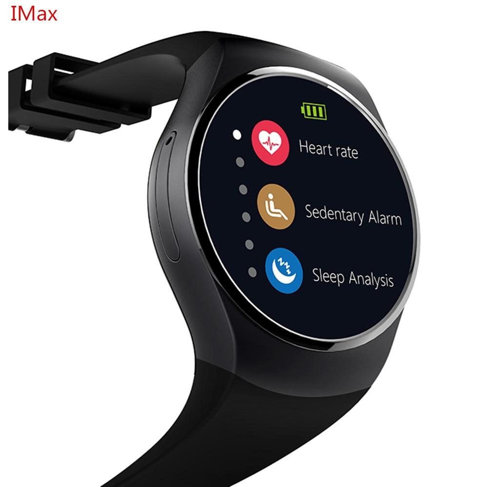 KW18 Smart Watch SIM TF MTK2502 Heart Rate Monitor Smartwatch Touch Screen bluet