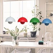 Modern Design Verner Panton Flowerpot pendant lamp Light Metal UFO Pendant Light E27 AC110-240V 20*15cm