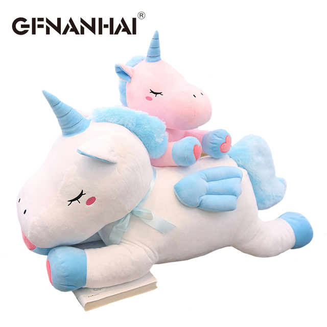 1pc 50cm Cute Unicorn Plush Toy Kawaii Animal Unicorn Dolls With