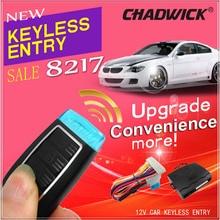 12V Universal Car keyless entry remote control door lock unlock turning light flash crystal transmitter upgrade  CHADWICK 8217