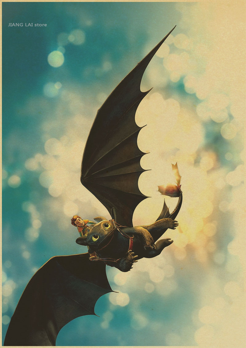 Awesome How To Train Your Dragon Wall Art Motif - Art & Wall Decor ...