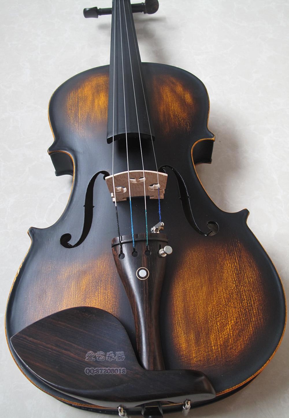 Wholesale Retail Antique Dumb Light  All Wood  Violin  Hot Sale