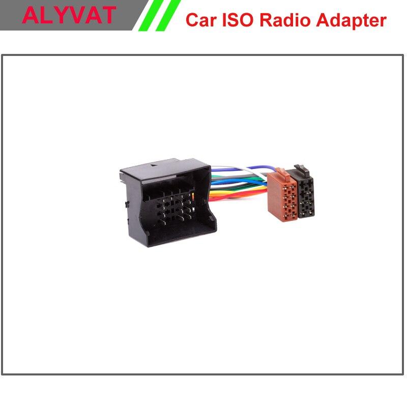Auto iso audio-stereo-adapter-verbindungs für renault fluence megane iii scenic grand scenic kabelbaum auto adapter kabel stecker draht