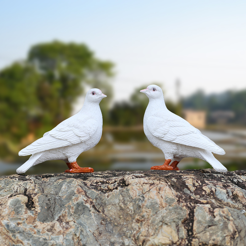 Creative Pigeon Resin Decorated Sculpture Of Animal Home Garden Furnishings
