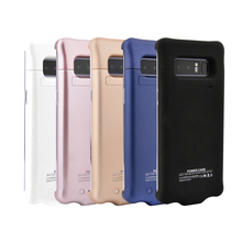 5200mAh Battery Charger Case For Galaxy Note 8 Battery Case Power Bank Pack External Charger Cover For Samsung Note 8
