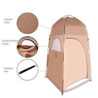 ポータブルトイレテント折りたたみシャワーテントビーチシャワー屋外キャンプ更衣室ポップアッププライバシーテントでキャリーバッグ