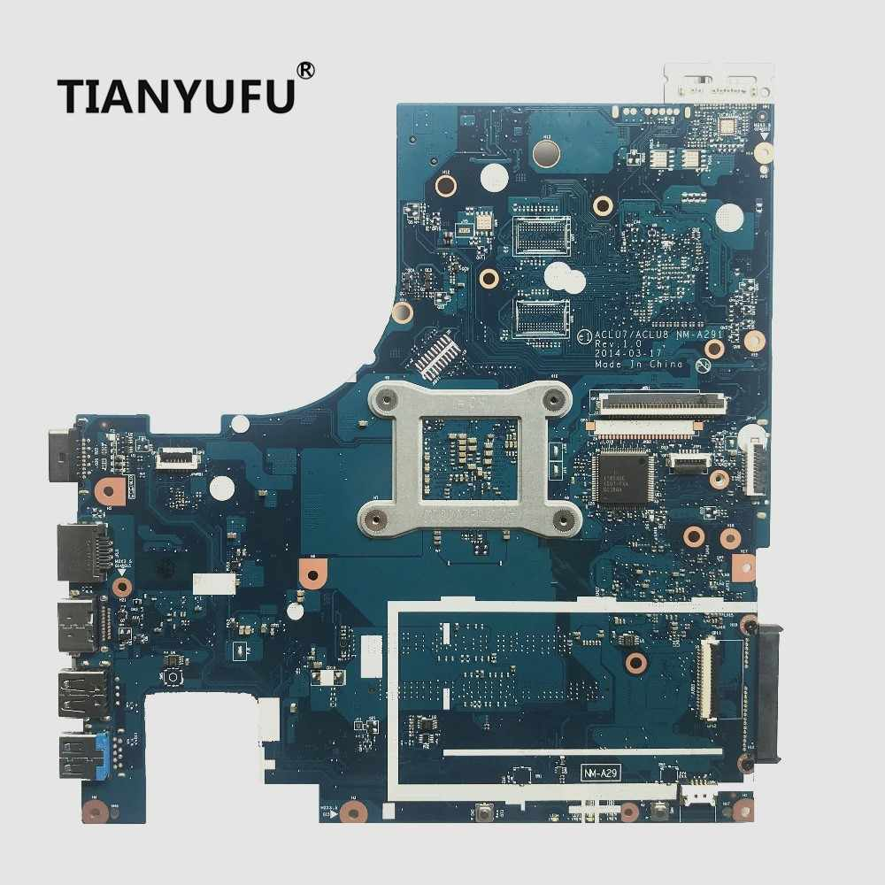 ACLU7/ACLU8 NM-A291 Lenovo Z50-75 G50-75M G50-75 ノートパソコンのマザーボード (Amd の A8-7100 CPU) メインボードテスト