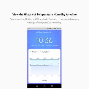 Image 4 - Xiaomi MIJIA BT4.0 ساعة رقمية ذكية لاسلكية ، ساعة داخلية وخارجية ، مقياس رطوبة ، ميزان حرارة ، LCD ، أدوات قياس درجة الحرارة
