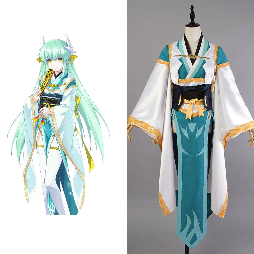 New Fate Grand Order Berserker Kiyohime Dress Uniform Outfit Cosplay Costume Halloween Party Full Set Made For Adult Men