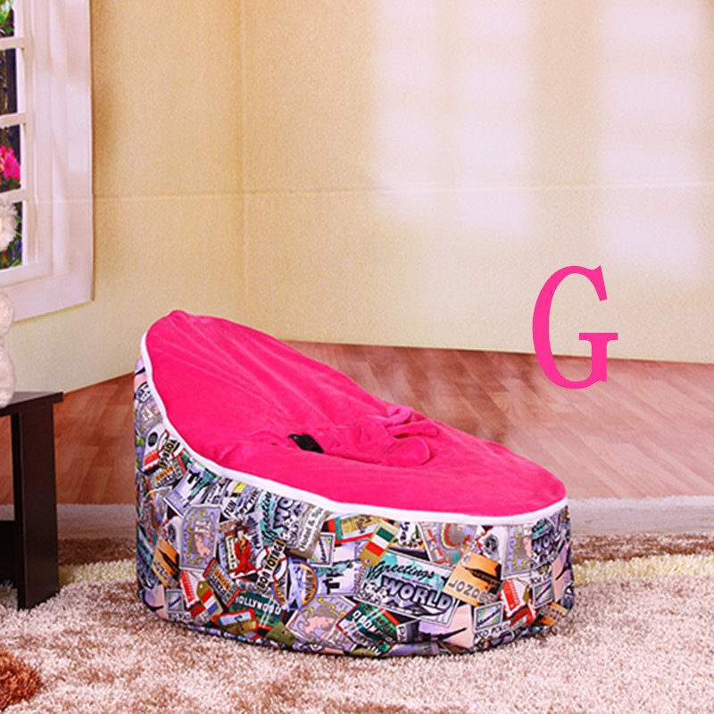 Toddler Bean Bag Sofa With Harness,Baby Beanbag Sofa Bed,Infant New Beanbag  Sofa Comfortable Bean Bag,Chair Baby,Drop Shipping-in Baby Seats & Sofa  From