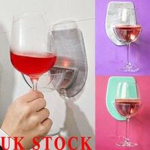 1 Unidad de Soporte de taza de succión portátil para baño y ducha Caddy para latas de vino y cerveza de vidrio transparente
