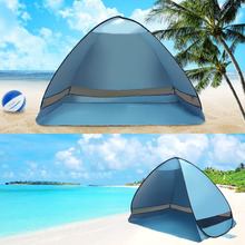 Newly Automatic Camping Beach Tent Pop Up Instant Open Anti UV Awning Tents Outdoor Sunshelter 19ing