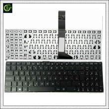 Испанская клавиатура для ASUS X550, X550C, X501, X501A, X501U, X501EI, X501XE, X501XI, X550CC, X550VB, X550CA, черная клавиатура SP для латинских языков