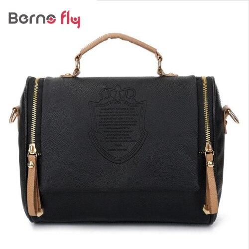 a3b77ae855 2018 New Arrival women cross body bag Barrel-shaped PU women shoulder bag  Messenger Bags ladies solid Zipper handbags
