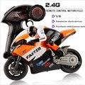 1:16 Масштаб 4CH JXD 2.4 Г RC Мотоцикл Мальчики Электрические Игрушки CVT Радио Управления Трюк Дрейф Мотоциклы