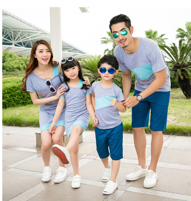HTB1832iJFXXXXclXpXXq6xXFXXXb - Entire Family Fashion - Matching Family Outfits, Smart Casual Styling, 3 Color Options