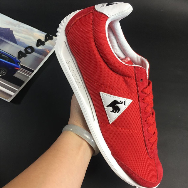 2f0a3bff899 2017 Latest Version Le Coq Sportif Men's Running Shoes Sneakers High  Quality Men's Sports Shoes Red/White Color 3