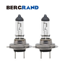 H7 100W PX26d Clear Glass Halogen Head Light Bulb Fog Lights Quartz Glass 3100K 12V Light Bulbs For Cars Luces Coche 2PCS