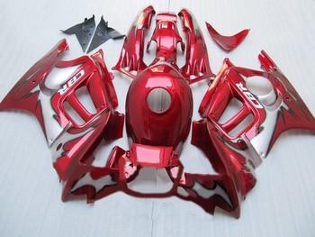 L36-Custom OEM motorcycle fairings for  CBR600 F3 1995 1996 CBR 600 F3 CBR600F3 96 95 red fairing kits