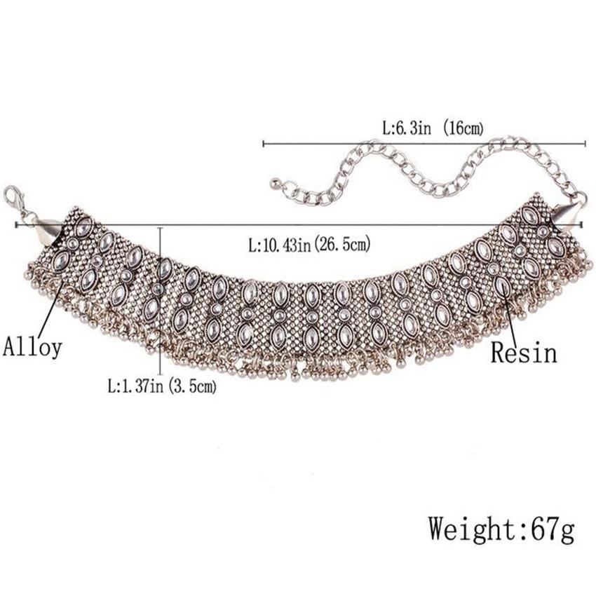 silver necklace choker (6)