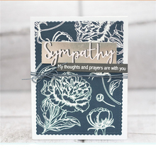 YaMinSanNiO Sympathy Word Dies Metal Cutting Die for Card Making New 2019 Scrapbooking