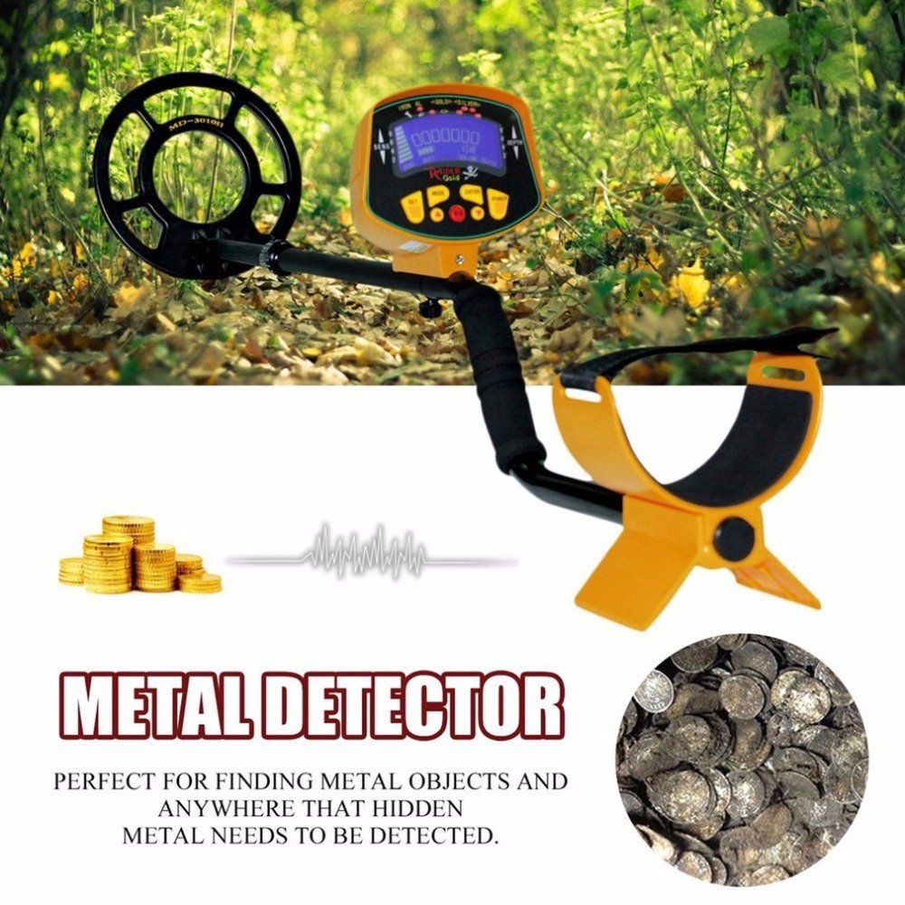 Deep Underground Metal Detector High Sensitivity LCD Display Screen Searching Gold Digger Treasure Hunter Finder Scanner md 4040 metal detector searching treasure gold pointer metal hunter finder scanner finder gold digger treasure hunter