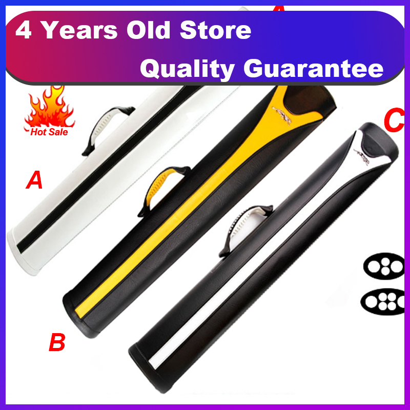 Pool Cue Case 4 And 6 Holes 3 Colors Options Billiard Accessories China 2019