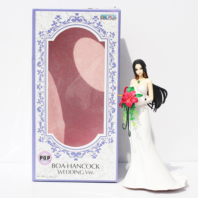 One Piece Boa Hancock Wedding PVC Action Figure High Quality Collection Model Sexy Figure